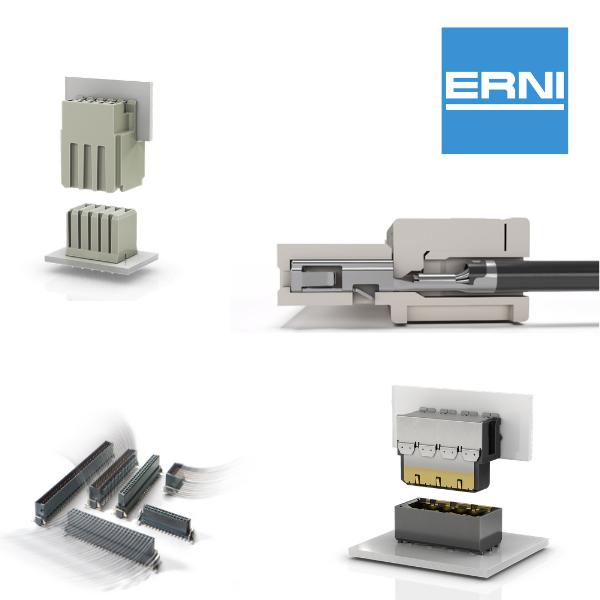 Digi-Key Electronics announces a global distribution partnership with electronic connector supplier ERNI Electronics